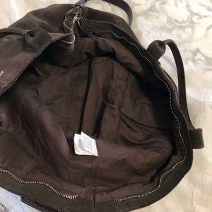 8c5d861815 Bags - Springfield suede chocolate brown bag